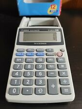 Canon P1-Dh Iii Tax and Business Palm Printer Calculator, 12 digit no ac adapter
