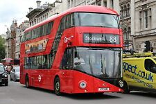 New bus for London - Borismaster LT481 6x4 Quality Bus Photo