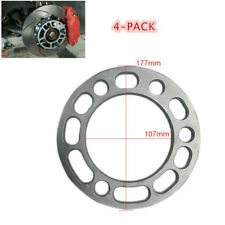 4X 6MM Wheel Spacers Thickness Alloy Aluminum Wheel Spacers Shims 5/6 Stud Fit