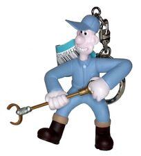 Wallace & Gromit - WALLACE WITH ANTI PESTO GUN KEYRING - Were Rabbit Keychain