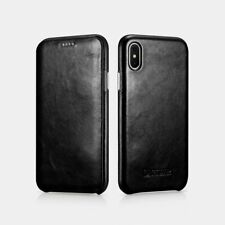 NEW ICARER iPhone X Curved Edge Vintage Series