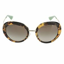 2d89eaa5f53 Brand New Authentic Prada SPR16QS 7S04M1 Blonde Havana Green Gradient  Sunglasses