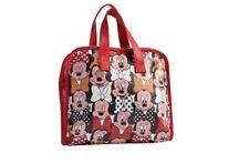 Disney Minnie Mouse Multi Faces Folding Toiletry Bag Makeup Travel Bag
