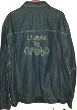 Le Jean De Girbaud Marithe & Francois Girbaud Denim Jean Jacket XL