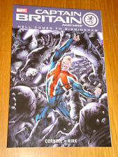 CAPTAIN BRITAIN AND MI13 HELL COMES TO BIRMINGHAM VOL 2 MARVEL < 9780785133452