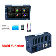 7'' 2DIN Touch Screen Car MP5 MP3 Player Bluetooth AM RDS Reverse View FM Radio
