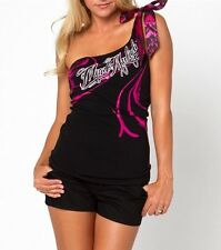 "Metal Mulisha Ladies ""Jaina"" One Shoulder Top Size S"