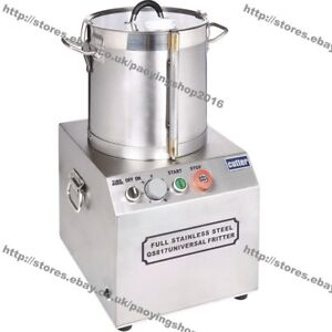 15L Stainless Steel Electric Commercial Food Processor Chopper Grinder Dicer