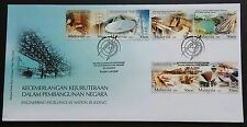 2009 Malaysia Engineering Excellence Nation Building 6v Stamps FDC (KL)