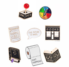 Funny Quotes - The Future is Naps - Good Vibes - Enamel Pin Pins Badge Badges