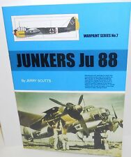 Warpaint Series No.007 - Junkers Ju 88  28 Pages          Book