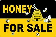 Honey for Sale  Aluminum Sign 8 X 12  Beekeeping Honey bee