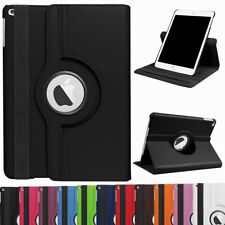 "For iPad 10.2"" 2019 7th Generation 360 Rotating Leather Smart Stand Case Cover"
