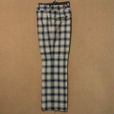 Corbin of Huntington Plaid Pants Vintage Browns