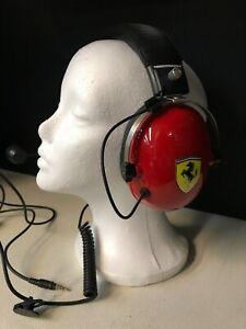 Thrustmaster T.Racing Scuderia Ferrari Edition Headset Defective Looks NICE