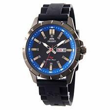 [Orient] ORIENT watch quartz Sports Black Blue Dial FUG1X008B9 Men's