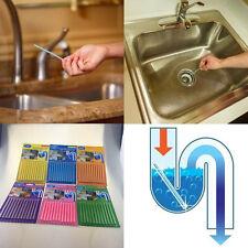 12STK Sani Sticks Seife Halten Sie Abflussrohre sauber Bar Geruch frei Reinigung