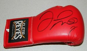 FLOYD MONEY MAYWEATHER SIGNED AUTO CLETO REYES BOXING GLOVE PSA #AI60635