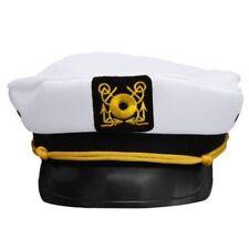 Party Captain's Yacht Sailors Hat Navy Marine Cap Adjustable Captain's Hat