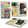For Doogee F2 - Clip Printed Series PU Leather Wallet Case