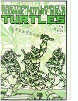 Teenage Mutant Ninja Turtles #4 1985 Eastman and Laird's 1st Print TMNT Mirage