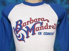 Nos vintage 80s Barbara Mandrell Concert Raglan T-Shirt Xxs country jersey thin