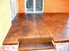 """Stone Decorative Polyurethane stamp for concrete""""Board"""",for the floor and tracks"""