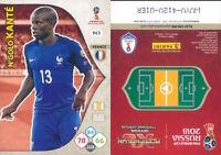 WORLD CUP  RUSSIA 2018 *Panini Adrenalyn-Card  N.143*FRANCIA-KANTE'