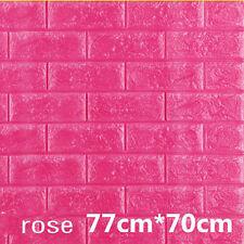 Modern DIY 3D Brick Wallpaper Wall Paper Masonry Background Livingroom Hot Decor
