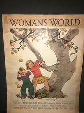 1938 Oct. WOMAN'S WORLD MAGAZINE - NICE ILLUSTRATIONS, STORIES, ADS!