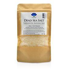 Dead Sea Salt-Pure Natural Comida/Spa grado Mineral Sales De Baño Cuerpo Exfoliante 350g