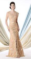 Ivonne D by Mon Cheri 213D22-Dark Champange-Size 16-Mother of the Bride-Reg $750