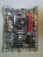 Gigabyte GA-F2A88X-D3H FM2+ with AMD Athlon X4 860K with 32 GB Jipjaws DDR3