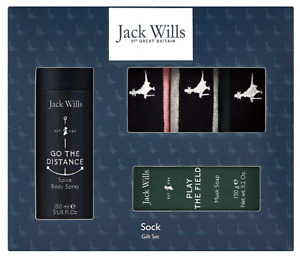 Jack Wills Sock Gift Set Perfect Xmas Gift 100% Authentic!!