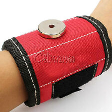 Magnetic Wristband Embedded Magnets for Holding Tools Nails Bolts Screws Gadgets