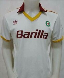 1991-92 Rome Away Retro Soccer Jersey