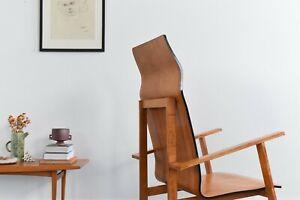 Vintage Modernist 1930s Bauhaus Style Plywood Chair