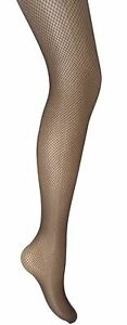 Classic Fishnet Tights in Brown - One Size Regular