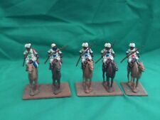 ESSEX MINIATURES 25/28mm PAINTED & BASED COLONIAL MOUNTED TRIBAL CAMELRY X 5