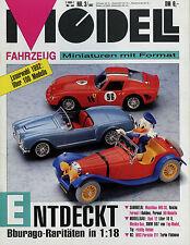 Zeitschrift Modell Fahrzeug 3 92 1992 Matchbox MB-38 Permot Wolfgang Reiche Kyos