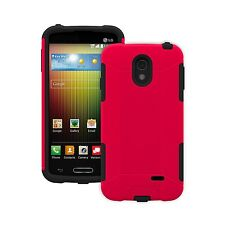 Trident Case AG-LGLCD3-RD000 Aegis Series for LG Lucid 3 Retail Packaging - Red