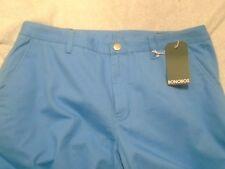 Bonobos Stretch Cotton Chino Pants NWT $98 36 x 34 Big Wave Blue Slim Fit