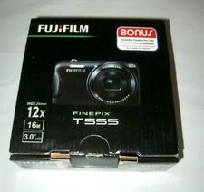 Fujifilm FinePix T Series T555 16.0 MP Digital Camera 12x ZOOM NEW W/Accessories