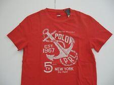 POLO RALPH LAUREN Men's Custom Slim Fit Nautical Graphic T-Shirt XL