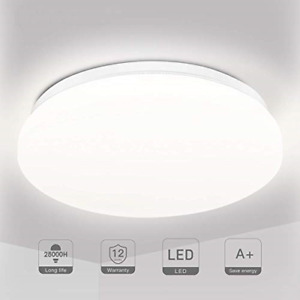 LED Ceiling Light Bathroom Lights Ceiling 18W Ceiling Lights Fitting, TECKIN for