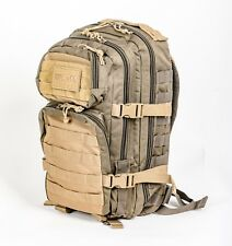 3bb9b53fa5 Zaino tattico militare 20 LT 42x20x25, US Assault Pack small Ranger green  coyote