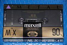 MAXELL MX  90  VS. II  BLANK CASSETTE  TAPE (1) (SEALED)