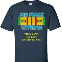 PHAN RANG AIR BASE * SOUTH VIETNAM *VIETNAM CAMPAIGN RIBBON & VINYL SHIRT/SWEAT