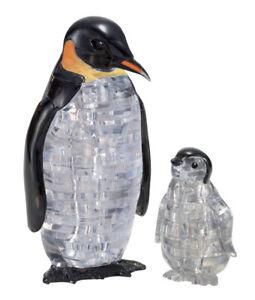 3D Crystal Puzzle - Pinguinpaar 43 Teile