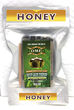 10 Large  Flavored Organic Natural Leaf Blunt Wraps  Brand OME
